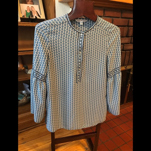 Max studio blouse size L
